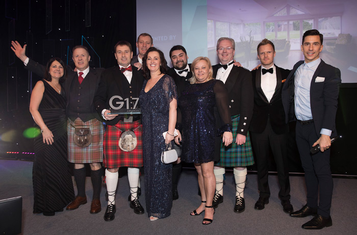 Conservatory Installer of the Year G17