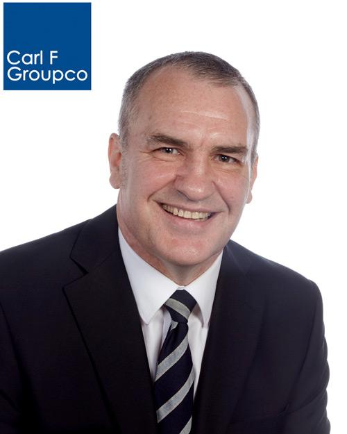 John King returns to Carl F Groupco