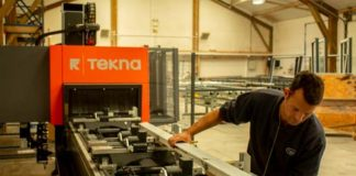 ekna 944 4-axis machining centre