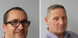 Pictured left-right Sales Director Chris Jones, Operations Director Darren Woodcock