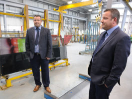 Paul Pearce, former owner and firector of Commercial Aluminium Services, who continues to work with the company as part of the GG Glass team