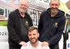 (l-r) Steve Wasley, Ian Palmer and Lee Wasley (all Gold Oak Windows)