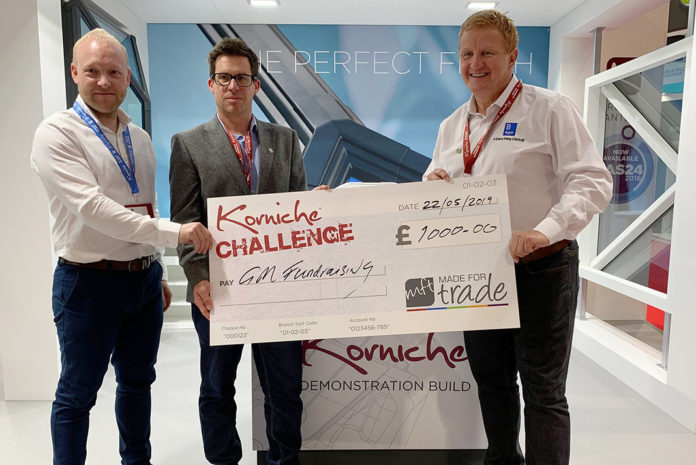 Left to right: Bradley Gaunt (managing director Made For Trade), Luke Wood (editor of GGP Magazine), and Gary Morton of GM Fundraising