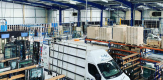 Morley Glass & Glazing's Leeds-based factory, where the business manufactures around 2,400 integral blinds every week.
