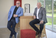 Picture caption from left to right: Nick Dutton and Steve Stewart of Brisant-Secure.
