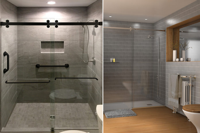 Shower Design In The Frame Glass Glazing Products Magazine Ggp
