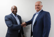 Sylvester Allen, national business development manager (left) and Kurt Greatrex, sales director (right)