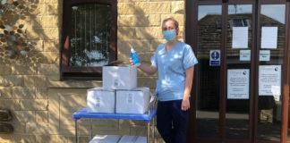 Bond It donates 100 bottles of sanitiser to Overgate Hospice