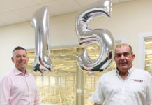 Group managing director, Andy Jones (left) and company founder and chief executive, Scot Starkey (right)