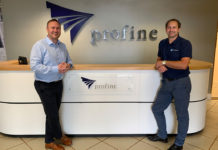 left to right: Andrew Charlesworth, head of technical, with Neil Stuart, quality manager
