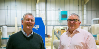 Sales director, Ian Cowling (L) and Scott Hawkings, MD of Eco-Logic Roofing