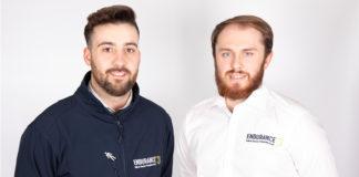 Callum Shrimpton and Ben Dowell of Endurance Doors.